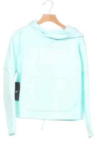 Dětská mikina  Nike, Velikost 10-11y/ 146-152 cm, Barva Modrá, Polyester, Cena  703,00Kč