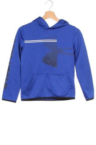 Dětská mikina  Under Armour, Velikost 11-12y/ 152-158 cm, Barva Modrá, Polyester, Cena  332,00Kč