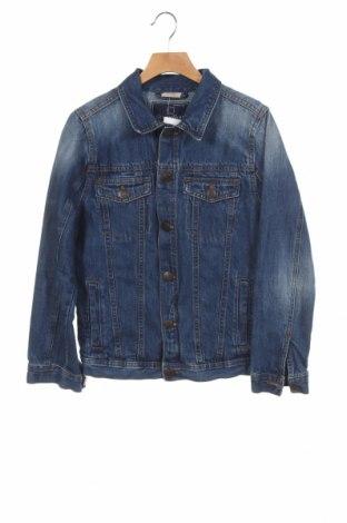 Παιδικό τζίν μπουφάν Zara, Μέγεθος 11-12y/ 152-158 εκ., Χρώμα Μπλέ, Βαμβάκι, Τιμή 21,82€