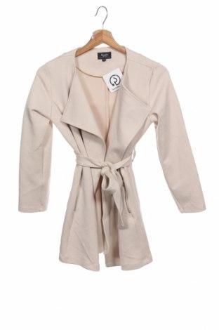 Детско палто Bardot, Размер 11-12y/ 152-158 см, Цвят Екрю, 55% вискоза, 38% полиестер, 7% еластан, Цена 13,44лв.
