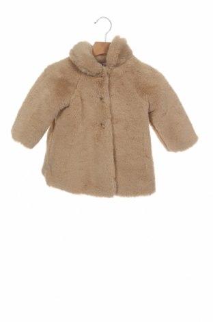 Παιδικό παλτό Nanos, Μέγεθος 12-18m/ 80-86 εκ., Χρώμα  Μπέζ, Πολυεστέρας, Τιμή 34,50€