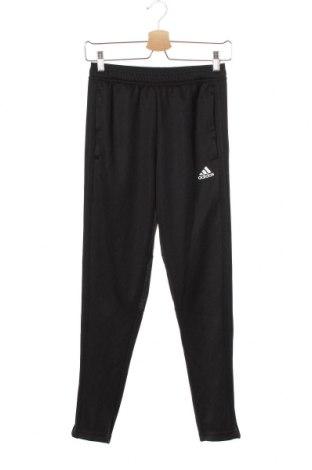 Dětské tepláky Adidas, Velikost 10-11y/ 146-152 cm, Barva Černá, Polyester, Cena  248,00Kč