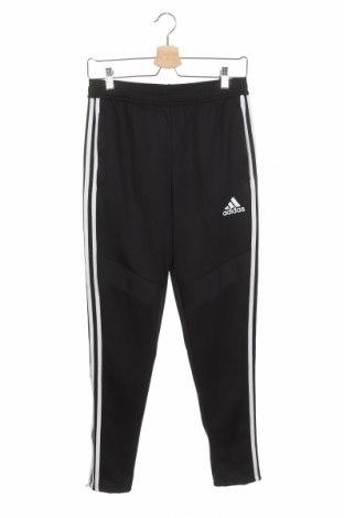 Dětské tepláky Adidas, Velikost 13-14y/ 164-168 cm, Barva Černá, Polyester, Cena  430,00Kč