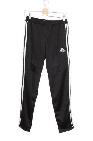 Dětské tepláky Adidas, Velikost 12-13y/ 158-164 cm, Barva Černá, Polyester, Cena  325,00Kč