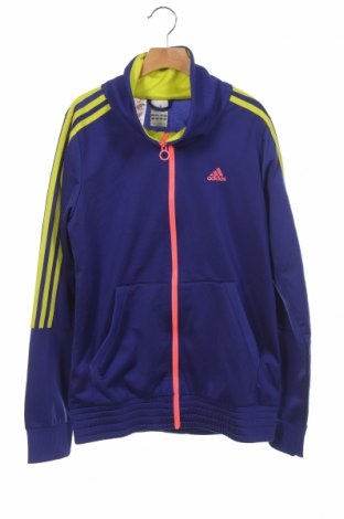 Dětská horní část sportovní soupravy Adidas, Velikost 15-18y/ 170-176 cm, Barva Fialová, Polyester, Cena  510,00Kč