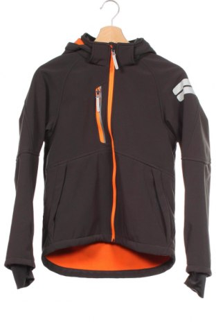 Παιδικό αθλητικό μπουφάν H&M Sport, Μέγεθος 11-12y/ 152-158 εκ., Χρώμα Μαύρο, 97% πολυεστέρας, 3% ελαστάνη, Τιμή 19,74€