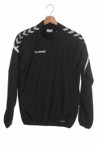 Dětská sportovní bunda  Hummel, Velikost 15-18y/ 170-176 cm, Barva Černá, Polyester, Cena  542,00Kč