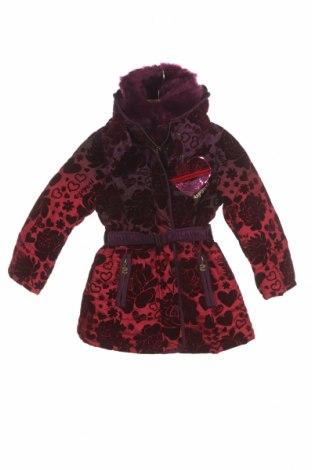Детско яке Desigual, Размер 2-3y/ 98-104 см, Цвят Червен, Полиестер, Цена 44,75лв.
