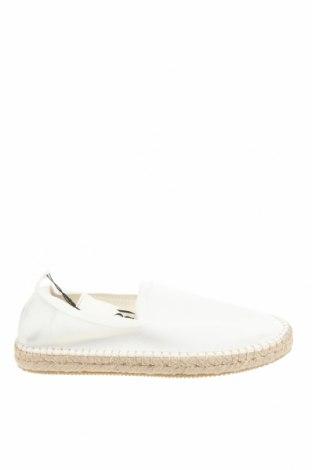 Εσπάδριλλες Zara, Μέγεθος 43, Χρώμα Λευκό, Κλωστοϋφαντουργικά προϊόντα, Τιμή 12,06€