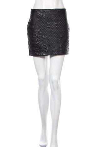Δερμάτινη φούστα H&M Divided, Μέγεθος S, Χρώμα Μαύρο, Δερματίνη, Τιμή 15,35€