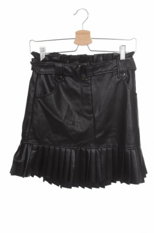 Fustă de piele Zara, Mărime XS, Culoare Negru, Piele ecologică, Preț 184,21 Lei