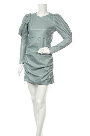 Rochie de piele Zara, Mărime M, Culoare Verde, Piele ecologică, Preț 56,74 Lei