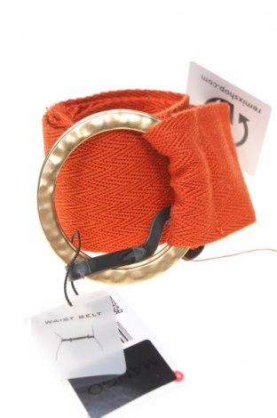 Opasek  Mango, Barva Oranžová, Textile , Cena  412,00Kč