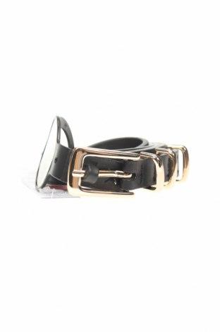 Ζώνη Topshop, Χρώμα Μαύρο, Γνήσιο δέρμα, Τιμή 23,97€