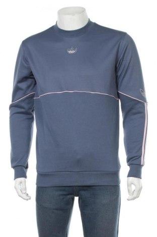 Bluză de bărbați Adidas Originals, Mărime S, Culoare Albastru, 52% bumbac, 48% poliester, Preț 219,57 Lei