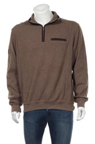 Pánské tričko  Bugatti, Velikost L, Barva Hnědá, 70% bavlna, 30% polyester, Cena  637,00Kč