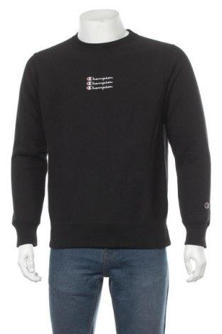 Мъжка блуза Champion, Размер M, Цвят Черен, 84% памук, 16% полиестер, Цена 59,25лв.