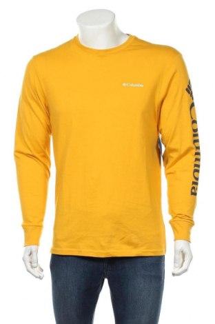 Мъжка блуза Columbia, Размер S, Цвят Жълт, Памук, Цена 60,52лв.