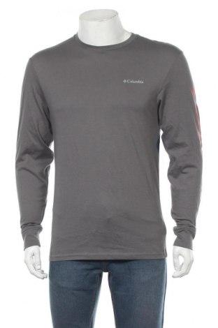 Мъжка блуза Columbia, Размер S, Цвят Сив, Памук, Цена 60,52лв.