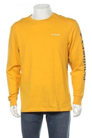 Мъжка блуза Columbia, Размер M, Цвят Жълт, Памук, Цена 59,25лв.