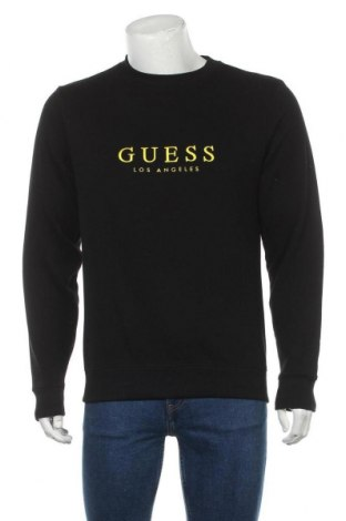 Мъжка блуза Guess, Размер S, Цвят Черен, 86% памук, 14% полиестер, Цена 57,12лв.