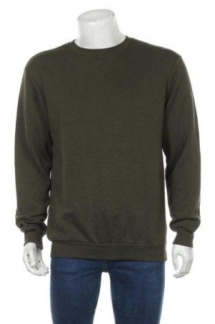 Ανδρική μπλούζα H&M Divided, Μέγεθος M, Χρώμα Πράσινο, 63% βαμβάκι, 37% πολυεστέρας, Τιμή 10,49€