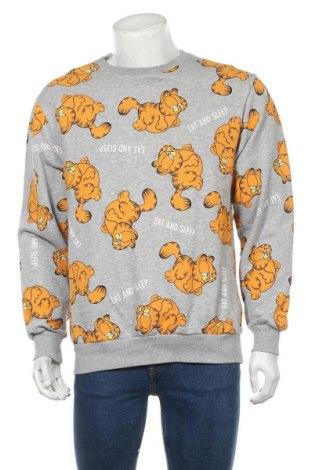 Ανδρική μπλούζα H&M Divided, Μέγεθος M, Χρώμα Γκρί, 75% βαμβάκι, 20% πολυεστέρας, 5% ελαστάνη, Τιμή 6,79€