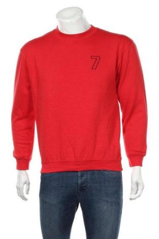 Pánské tričko  James & Nicholson, Velikost S, Barva Červená, 80% bavlna, 20% polyester, Cena  273,00Kč