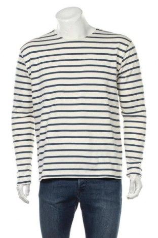 Мъжка блуза Mads Norgaard, Размер L, Цвят Екрю, Памук, Цена 33,92лв.