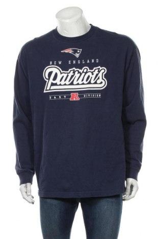 Мъжка блуза NFL, Размер XL, Цвят Син, Памук, Цена 42,00лв.