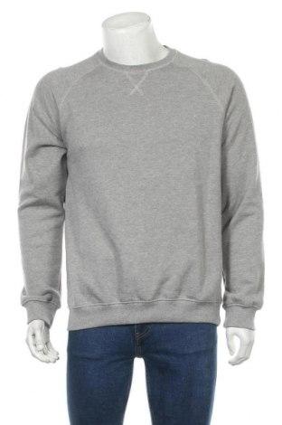 Мъжка блуза Pier One, Размер L, Цвят Сив, 60% памук, 40% полиестер, Цена 27,84лв.
