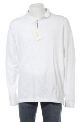 Мъжка блуза Pier One, Размер 3XL, Цвят Бял, Памук, Цена 28,42лв.