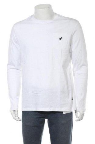 Мъжка блуза Pier One, Размер XL, Цвят Бял, Памук, Цена 24,36лв.