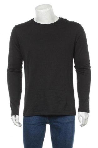 Мъжка блуза Pier One, Размер L, Цвят Черен, Памук, Цена 27,93лв.