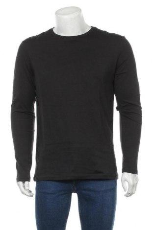 Мъжка блуза Pier One, Размер L, Цвят Черен, Памук, Цена 26,68лв.