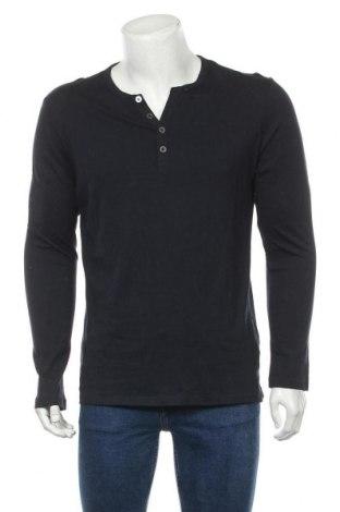 Мъжка блуза Pier One, Размер M, Цвят Син, Памук, Цена 27,93лв.
