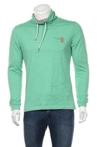 Pánské tričko  Tom Tailor, Velikost M, Barva Zelená, 60% bavlna, 40% polyester, Cena  424,00Kč