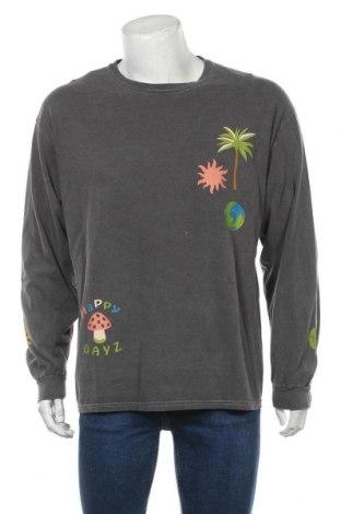 Мъжка блуза Urban Outfitters, Размер L, Цвят Сив, Памук, Цена 48,30лв.