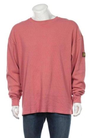 Мъжка блуза Urban Outfitters, Размер L, Цвят Розов, 97% памук, 3% еластан, Цена 43,40лв.