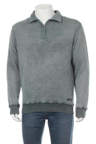 Мъжка блуза Urban Outfitters, Размер S, Цвят Син, 99% памук, 1% еластан, Цена 62,30лв.