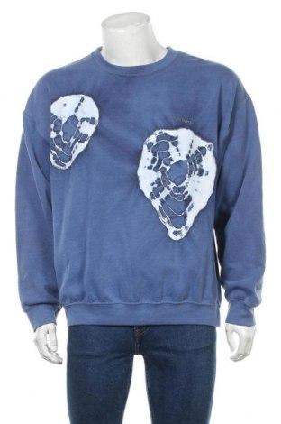Мъжка блуза Urban Outfitters, Размер M, Цвят Син, 50% памук, 50% полиестер, Цена 62,30лв.