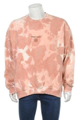 Мъжка блуза Urban Outfitters, Размер L, Цвят Розов, 50% памук, 50% полиестер, Цена 62,30лв.
