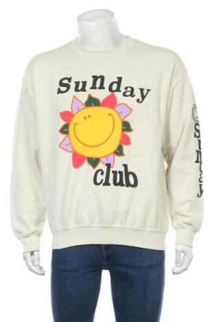 Мъжка блуза Urban Outfitters, Размер S, Цвят Екрю, 100% памук, Цена 66,75лв.