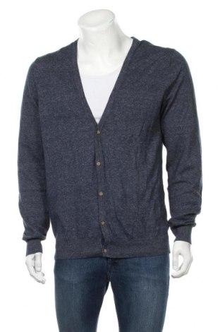 Pánský kardigán H&M, Velikost L, Barva Modrá, Bavlna, Cena  373,00Kč