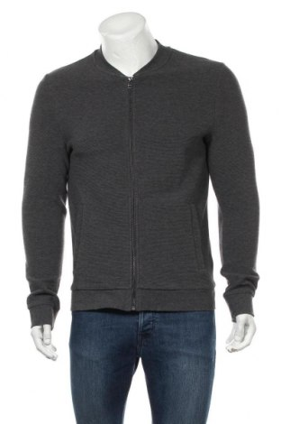 Pánský kardigán H&M, Velikost M, Barva Šedá, 76% bavlna, 23% polyester, 1% elastan, Cena  409,00Kč