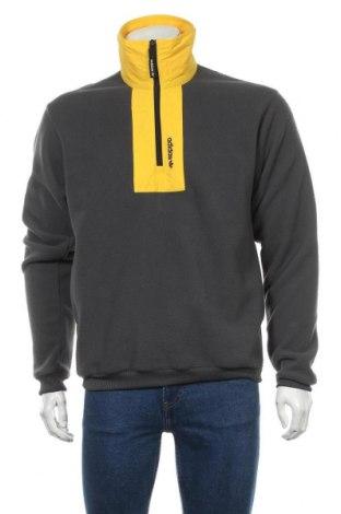 Мъжка поларена блуза Adidas Originals, Размер S, Цвят Сив, Полиестер, Цена 67,32лв.