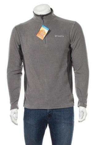 Bluză polară de bărbați Columbia, Mărime S, Culoare Gri, 100% poliester, Preț 236,84 Lei