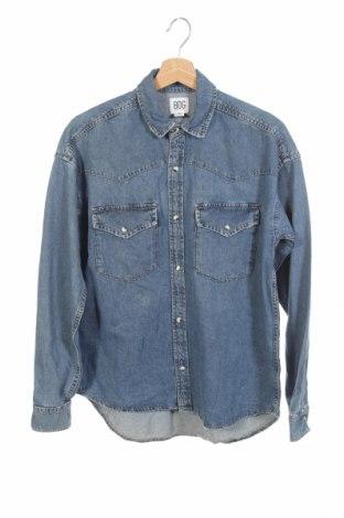Мъжка риза BDG, Размер XS, Цвят Син, Памук, Цена 74,00лв.