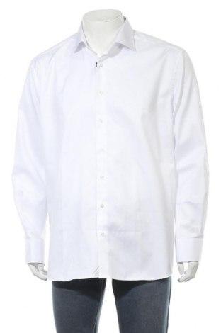 Мъжка риза Eterna, Размер XL, Цвят Бял, Памук, Цена 42,92лв.