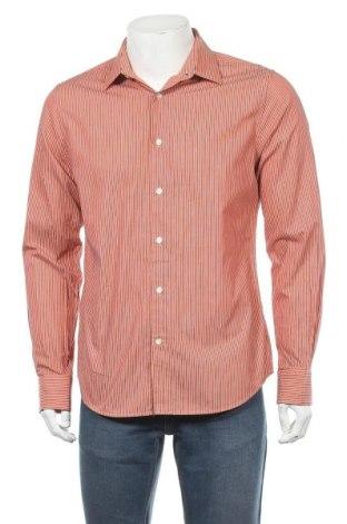 Мъжка риза Express, Размер M, Цвят Оранжев, 100% памук, Цена 8,98лв.